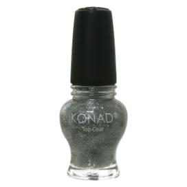 Princess Special Nail Polish - S93 Top Coat Glitter Princess (Silver)(12ml)
